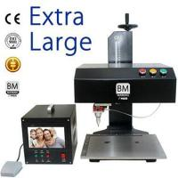 China Ultra Large Touch Monitor Nameplate Steel Dot Pin Marking Machine wholesale