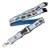 Buy cheap lanyard PRODUCT Discount double layers nice neck lanyards badge from wholesalers