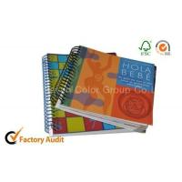 China Black Plastic Spiral Binding Exercise Book on sale