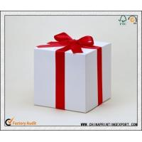 Buy cheap Hot Paper Gift Box Printing In China from wholesalers