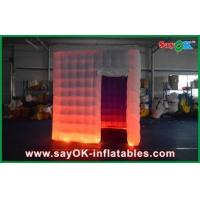 China Logo Printed Inflatable Photo Booth , Indoor Inflatable Event Tent wholesale