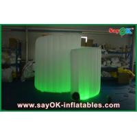 China Spiral Advertiaing Inflatable Photobooth White Portable With Oxford Cloth wholesale