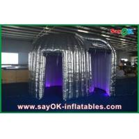China Advertising Silver Inflatable Photo Booth Durable Led Inflatable Snail wholesale