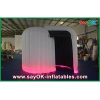 China Indoor Inflatable Photobooth , Custom Made White Inflatable Cube Tent wholesale