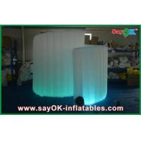 China Wedding Inflatable Photo Booth , Outdoor Spiral Inflatable Cube Tent wholesale