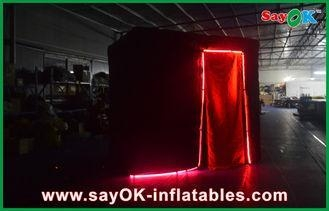 Quality Black Photobooth Inflatable Advertising Tent Lead Free Durable for sale