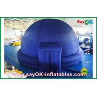 China Black Inflatable Planetarium Dome Projection Cloth For Teaching wholesale