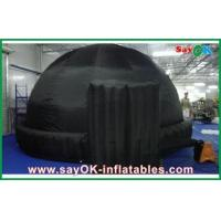 China Black Round 5m Inflatable Dome Tent Oxford Cloth For Teaching wholesale