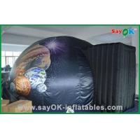China Mobile Inflatable Planetarium Black Commercial Inflatable Dome Tent wholesale
