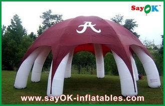 Quality Custom Camouflage Inflatable Air Tent Large Arm Inflatable Camping Tent for sale