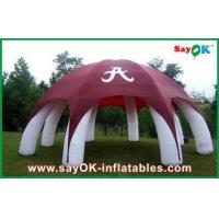 China Custom Camouflage Inflatable Air Tent Large Arm Inflatable Camping Tent wholesale
