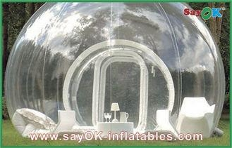 Quality Portable Outdoor Inflatable Bubble Tent Custom Giant Transparent Lawn Tent for sale