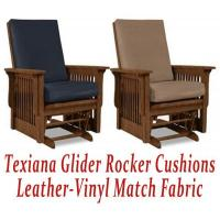 China Glider Rocker Cushions for Texiana Chair in Leather-Vinyl Match wholesale