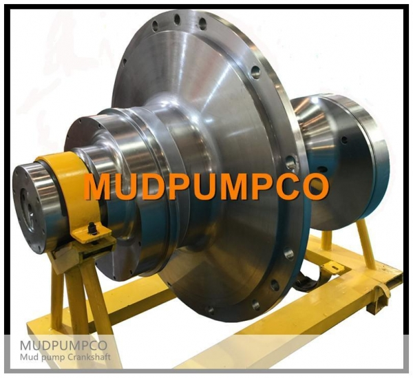 Quality Mud pump Crankshaft for sale