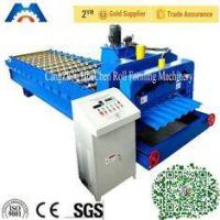 China Steel / Metal Finnera Glazed Tile Roll Forming Machine PLC Control wholesale