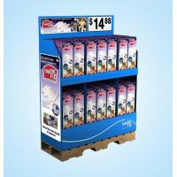 Quality Supermarket retail Pallet cardboard display stand for sale