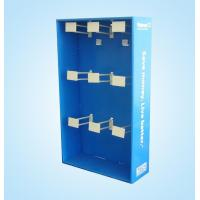 Quality Simple cardboard display stand with plastic hook for sale