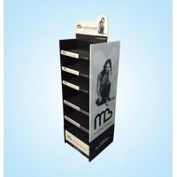 Buy cheap Custom printing pop six tiers corrugated paper display shelf from wholesalers