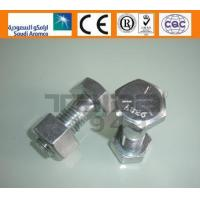 Buy cheap ASTM A325/325M/A490/490M A325/A325M ZP Heavy hex structural bolts from wholesalers