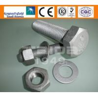 Buy cheap ASTM A325/325M/A490/490M A325/A563/F436 Heavy hex structural bolts from wholesalers