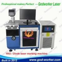 China GW-50W YAG / Diode laser marking machine for metal, plastic, rubber, tags wholesale
