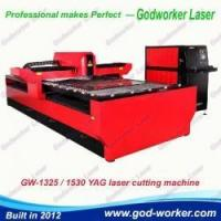 China GW-1325 500/600 Watts YAG Laser Cutter for Stainless Steel Sheet Metal and Signs wholesale