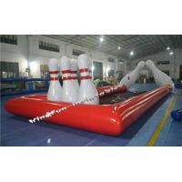 China Zorb ball with bowling bubble field Details wholesale