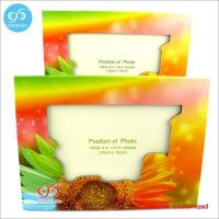 China Products Different pattern and color photo frame custom design 20.7*15.5 cm paper photo frame wholesale