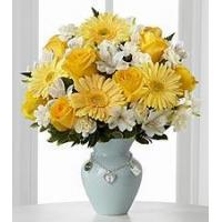 Buy cheap Yellow rose and white carnation NO.52 shanghai flower delivery from wholesalers