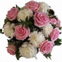 Buy cheap Rose and Carnations Bouquet NO.34 shanghai flower delivery from wholesalers