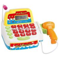 China HI-34440 Battery operated toy cash register set with microphone wholesale
