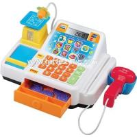 China HI-34443 Kids Intelligence Toy Cash Register With Microphone wholesale