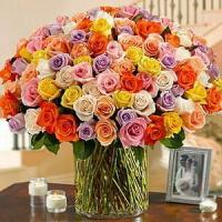 Buy cheap 100 Roses in a Vase NO.55 deliver flower to shanghai from wholesalers