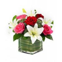 Buy cheap Lily & Roses Romance Cube NO.83 deliver flower to shanghai from wholesalers