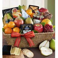 China Fruit & Gourmet Sweets Gift Basket N0.4 delivery gift to taiwan on sale