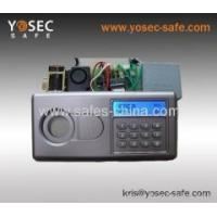 China LCD display Electronic Hotel safe locks with knob and override lock wholesale