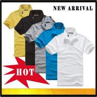 China Polo shirts New arrival men's polo t shirt wholesale