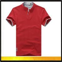 China Polo shirts Polyester and Cotton Polo T Shirt wholesale