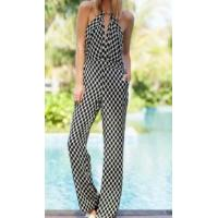 China Sexy Women's Jumpsuit Back Open Overall Pants wholesale