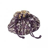 China Drawstring Jewelry Pouch With Pockets Radish Travel Gifts on sale