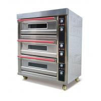 China 3 Decks 6 Trays Electric Oven (Upgraded) wholesale