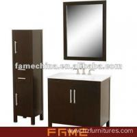 China 2013 New Design Floor Standing Classical Solid Wood Bath Cabinet(FM-S002) wholesale