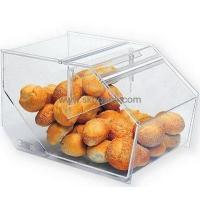China Acrylic bread case with lid BFD-005 wholesale