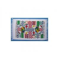 China Velour printed kitchen towel with hair wholesale