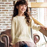 China 2-Way Cable Knit Sweater wholesale