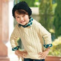 China 100% Cotton Washable Cable Knit Sweater wholesale