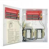 Buy cheap 24VAC CCTV Power Supply - PTC fuses, 16 Outputs, 24VAC, 1.1A / Output, 8A Max Total from wholesalers