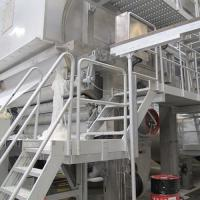 China Manufacture of 2400mm Fourdrinier Wire Single Cylinder Toliet Tissue Paper Making Machine wholesale