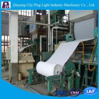 China Manufacture of 1092mm Toilet Tissue Paper Production Line Made from Rice Straw/Reed wholesale