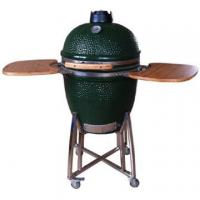 Buy cheap 21 Inch Dark Green Shiny Ceramic Grill from wholesalers